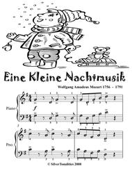 Eine Kleine Nachtmusik Easy Piano Sheet Music Tadpole Edition
