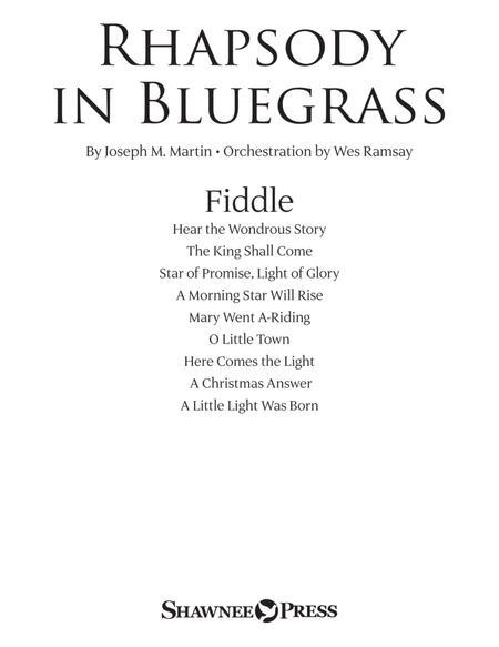 Rhapsody in Bluegrass - Fiddle