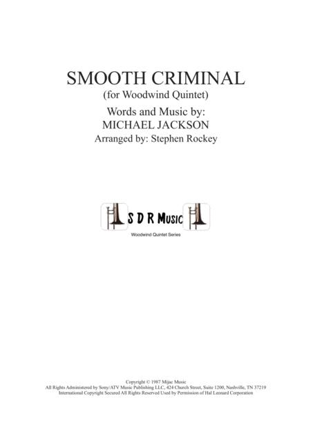 Smooth Criminal for Woodwind Quintet
