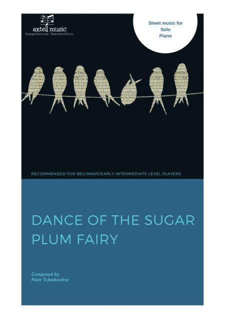 Dance of the sugar plum fairy- Easy Piano