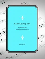 A Little Country Tune - original piano solo