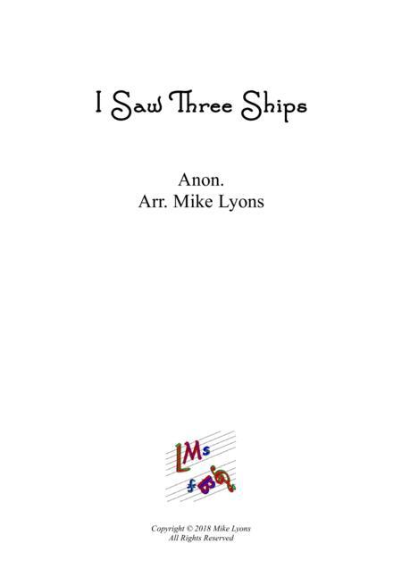 Brass Quintet - I Saw Three Ships