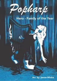 Hero by Family of the Year - harp solo, easy version