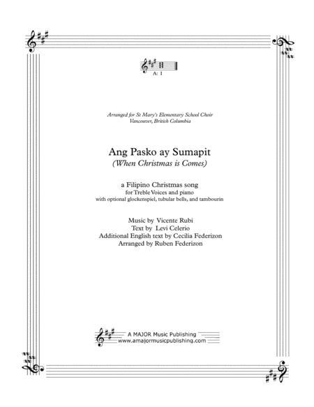 Ang Pasko ay Sumapit (When Christmas Comes)