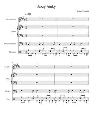 Jazzy Funky Beats (score + parts)
