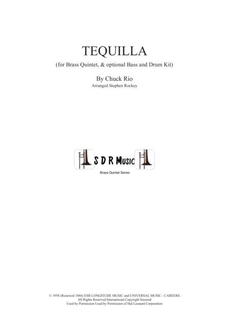 Tequila for Brass Quintet