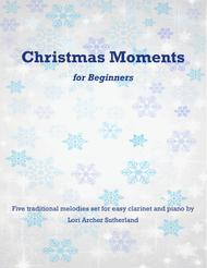 Christmas Moments for beginner clarinet & piano