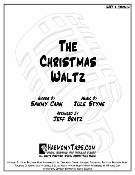 The Christmas Waltz (SATB A Cappella)