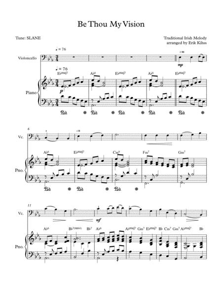 Be Thou My Vision - Cello/Piano duet