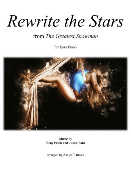 Rewrite The Stars for Easy Piano