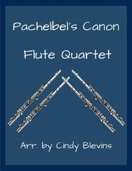 Pachelbel's Canon, for Flute Quartet