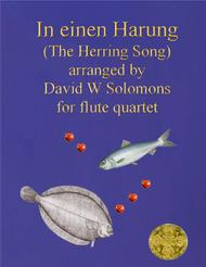 In einen Harung (a jolly folk song about a herring and a flounder) for flute quartet