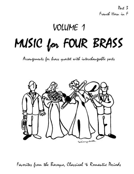 Music for Four Brass - Volume 1 - Part 3 French Horn in F 60132