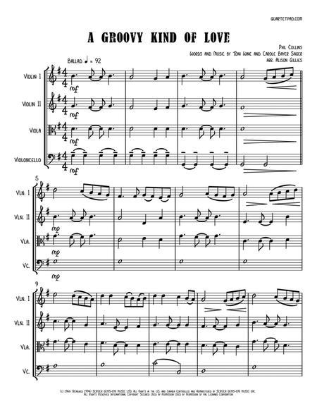 A Groovy Kind Of Love - String Quartet
