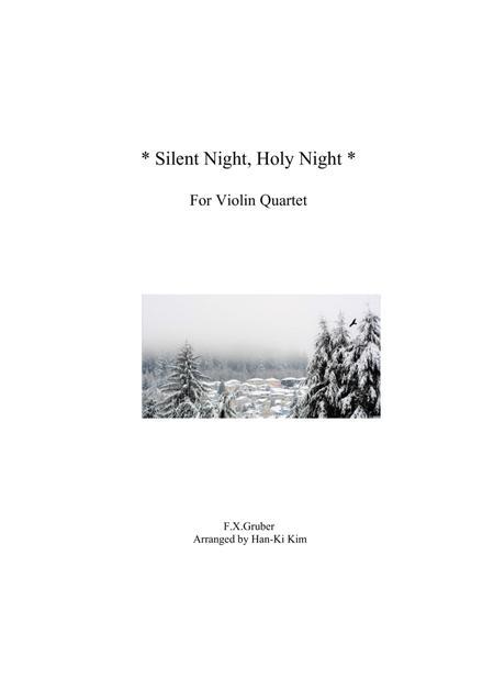 Silent night, Holy night (Violin Quartet)
