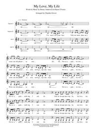 Download My Love My Life Ssaa A Cappella For Choir Sheet