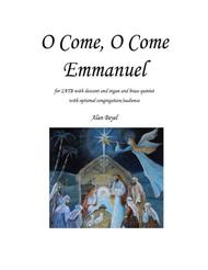 O Come, O Come Emmanuel (Conductor's Score and parts for Brass Quintet)