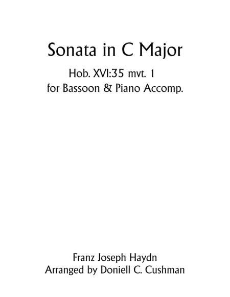 Sonata in C Major Hob. XVI:35 Mvt. 1