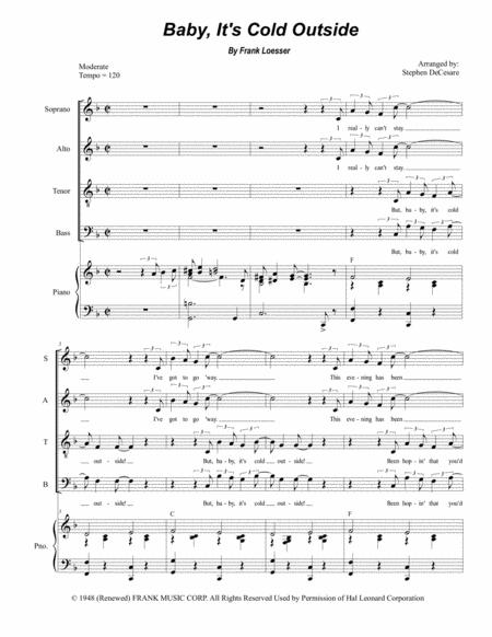Baby, It's Cold Outside (for SATB)