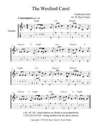 Download The Wexford Carol For Ukulele Tab, Chords And Voice Sheet