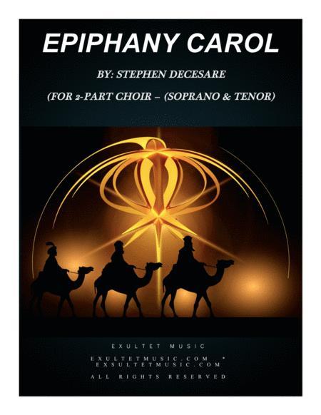 Epiphany Carol (for 2-part choir - (Soprano & Tenor)