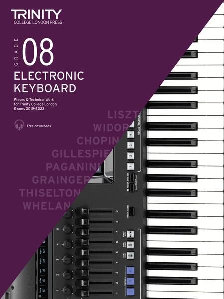 Electronic Keyboard Exam Pieces & Technical Work 2019-2022: Grade 8