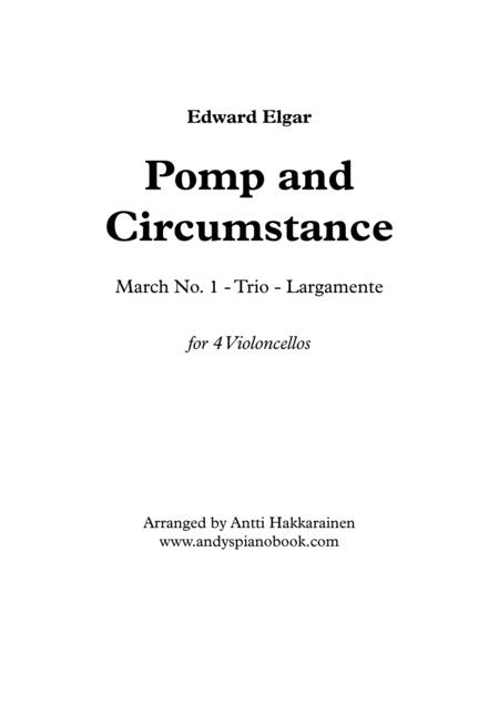 Pomp and Circumstance - 4 Violoncellos