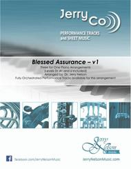 Blessed Assurance  (3 for 1 PIANO arrangements)  –  Jazz