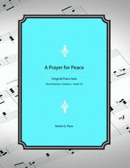 A Prayer for Peace - original piano solo