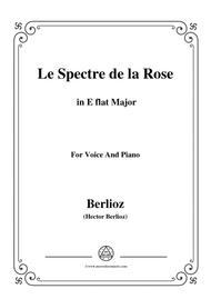 Berlioz-Le Spectre de la Rose in E flat Major,for voice and piano