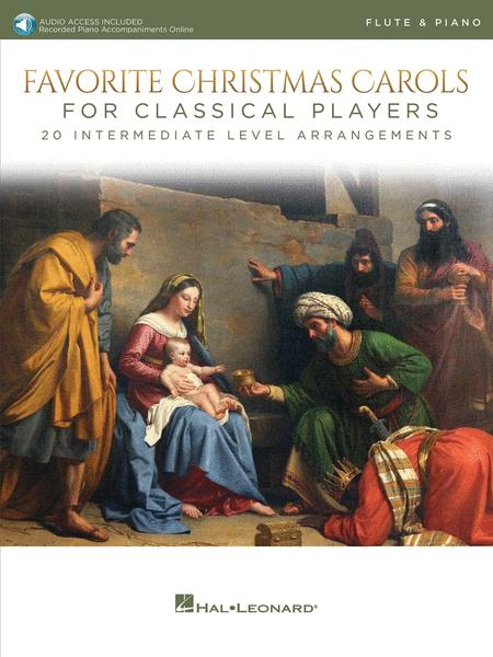 Favorite Christmas Carols for Classical Players - Flute and Piano