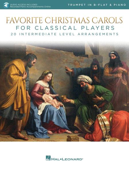 Favorite Christmas Carols for Classical Players - Trumpet and Piano