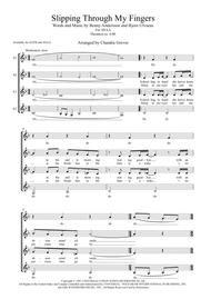Slipping Through My Fingers - SSAA a cappella for choir