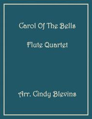 Carol of the Bells, for Flute Quartet