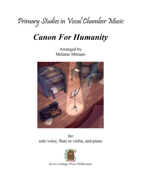 Canon For Humanity