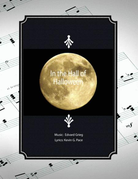 In the Hall of Halloween - a Halloween song (easy version)