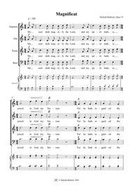 Magnificat and Nunc Dimittis, Op 15