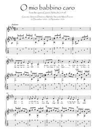 O mio babbino caro Violin Guitar duet