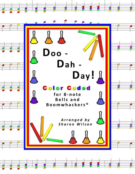 Doo-dah-day! for 8-note Bells and Boomwhackers® (with Color Coded Notes)