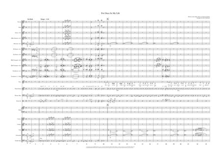 For Once In My Life - Female Vocal and Pops Orchestra Key of G to Ab