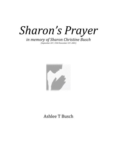 Sharon's Prayer for String Orchestra (SCORE ONLY)