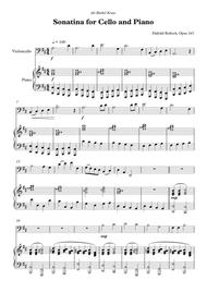 Sonatina for Cello and Piano