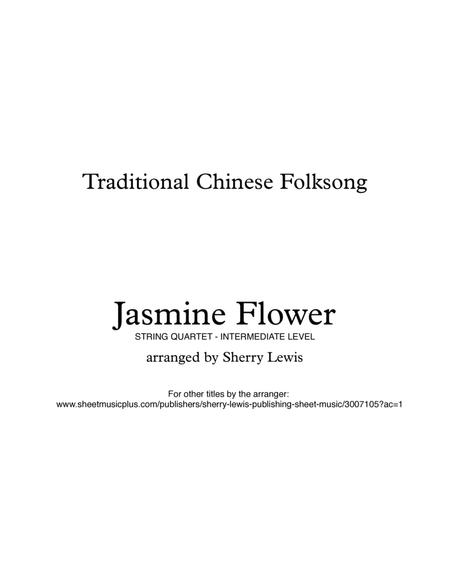 Jasmine Flower for STRING QUARTET, Traditional Chinese Folk Song