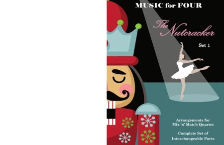 Waltz of the Snowflakes (Snow Children's Waltz) from the Nutcracker for String Quartet or Piano Quintet with optional Violin 3 Part