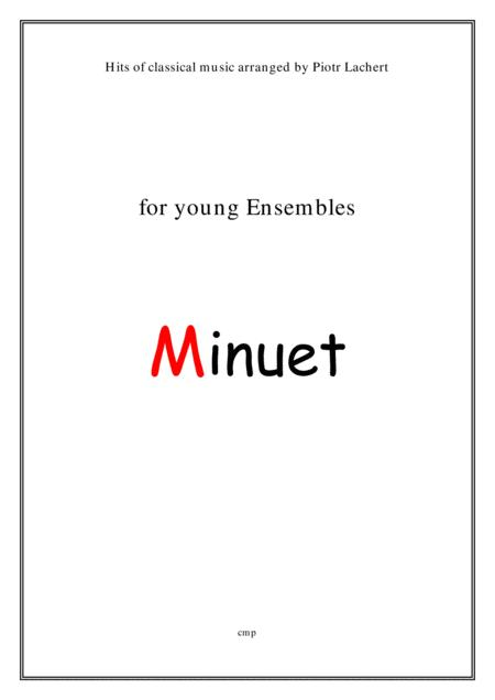 J.S.Bach - Minuet (Young Ensembles)