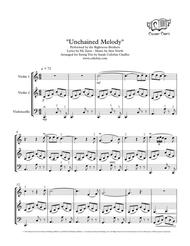 Unchained Melody - String Trio (2 Violins & Cello) - Righteous Brothers arr. Cellobat