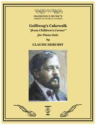GOLLIWOG'S CAKEWALK from The Children's Corner Suite by CLAUSE DEBUSSY - PIANO SOLO