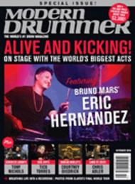 Modern Drummer Magazine October 2018