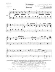Disappear - Beyoncé for Solo Harp