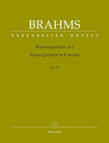 Piano Quintet in F minor, Opus 34